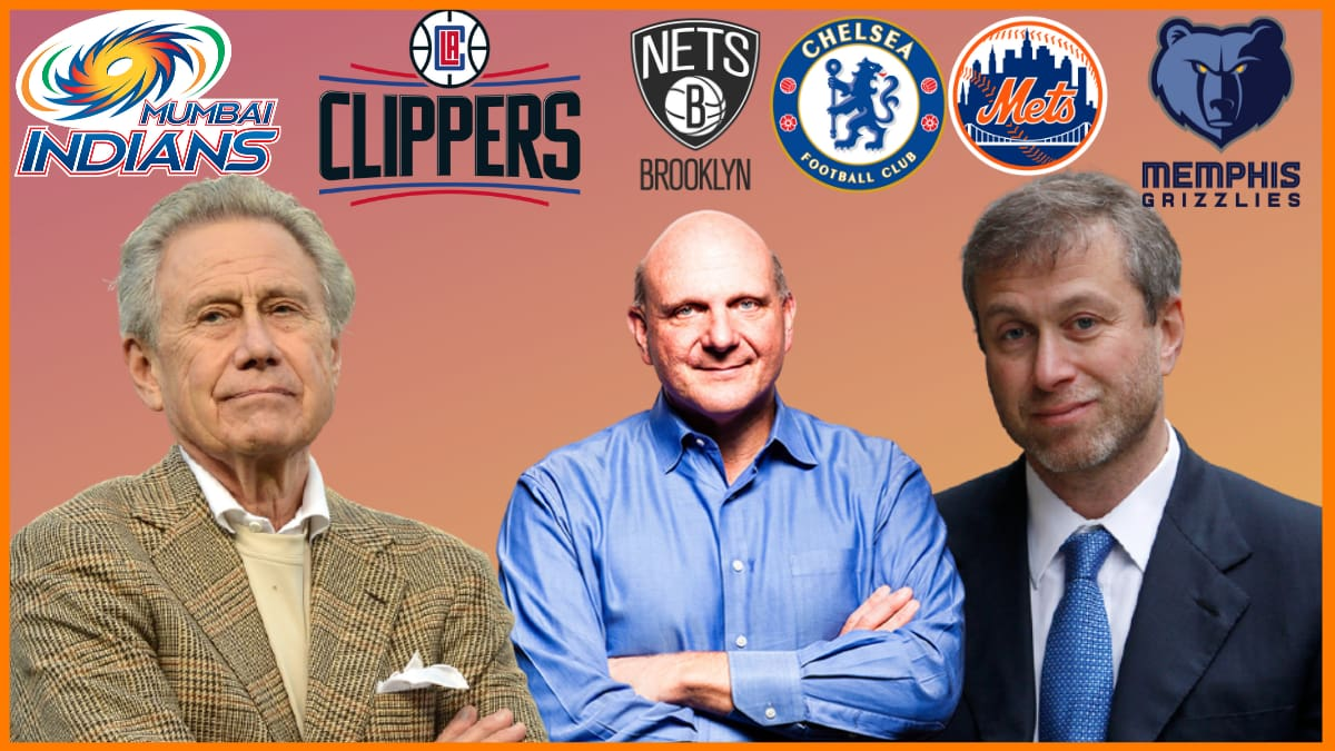 List of World's Richest Sports Team owners 2021