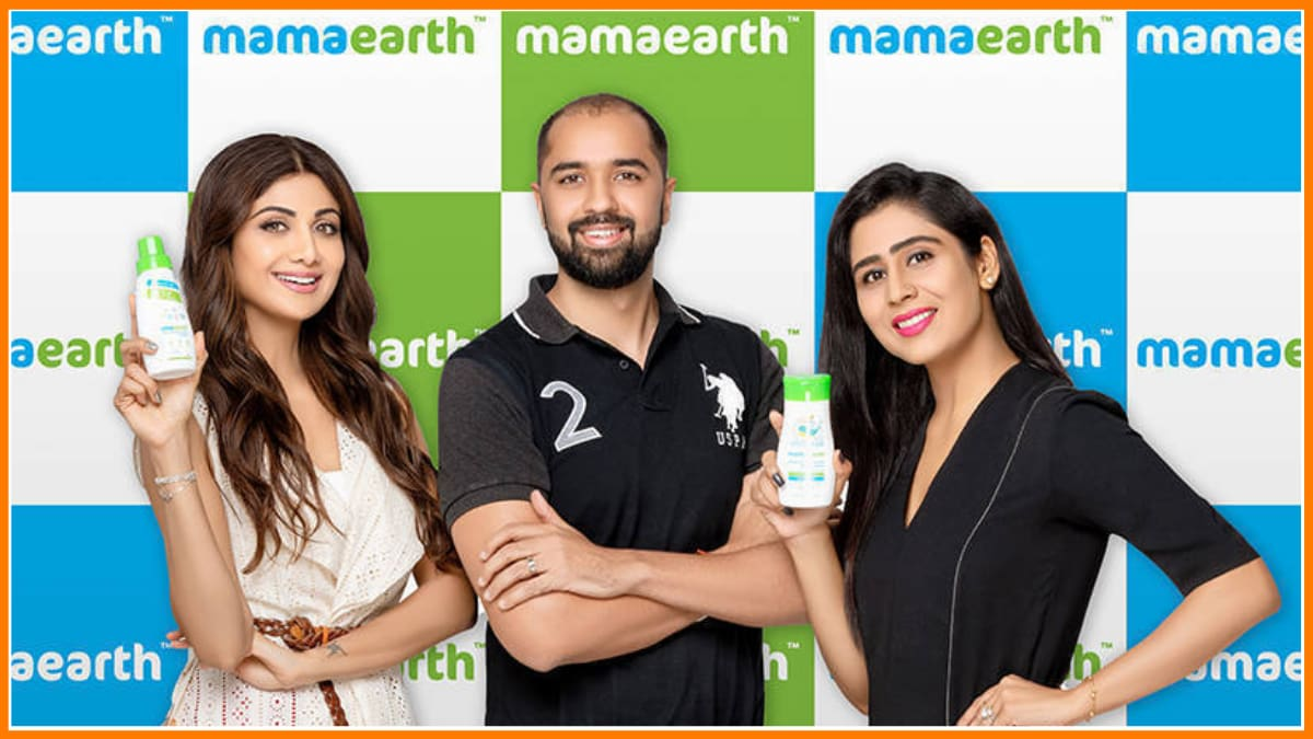 Mamaearth Founders with Shilpa Shetty