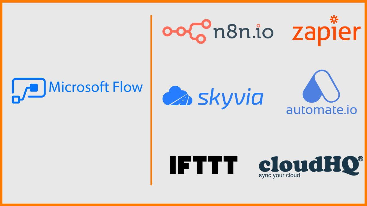Top 8 Best Alternatives For Microsoft Flow