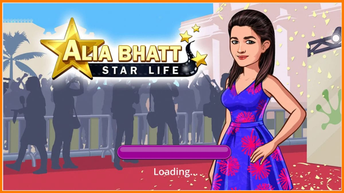 Moonfrog Labs game on Alia Bhatt