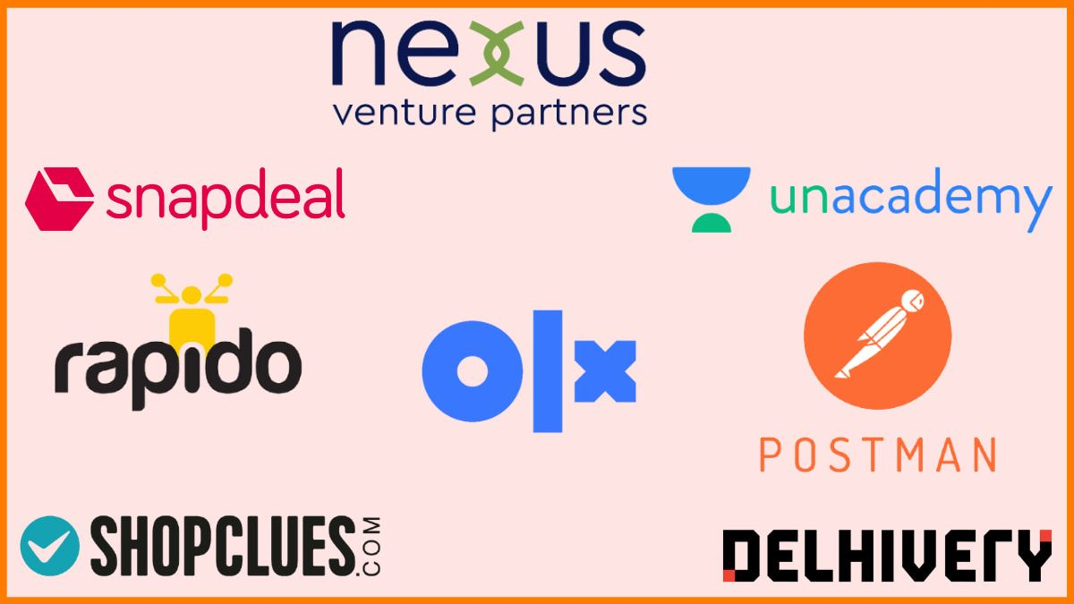 List of Startups funded by Nexus Venture Partners