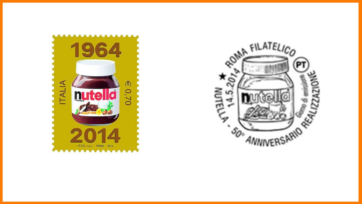 Nutella Stamp Italy