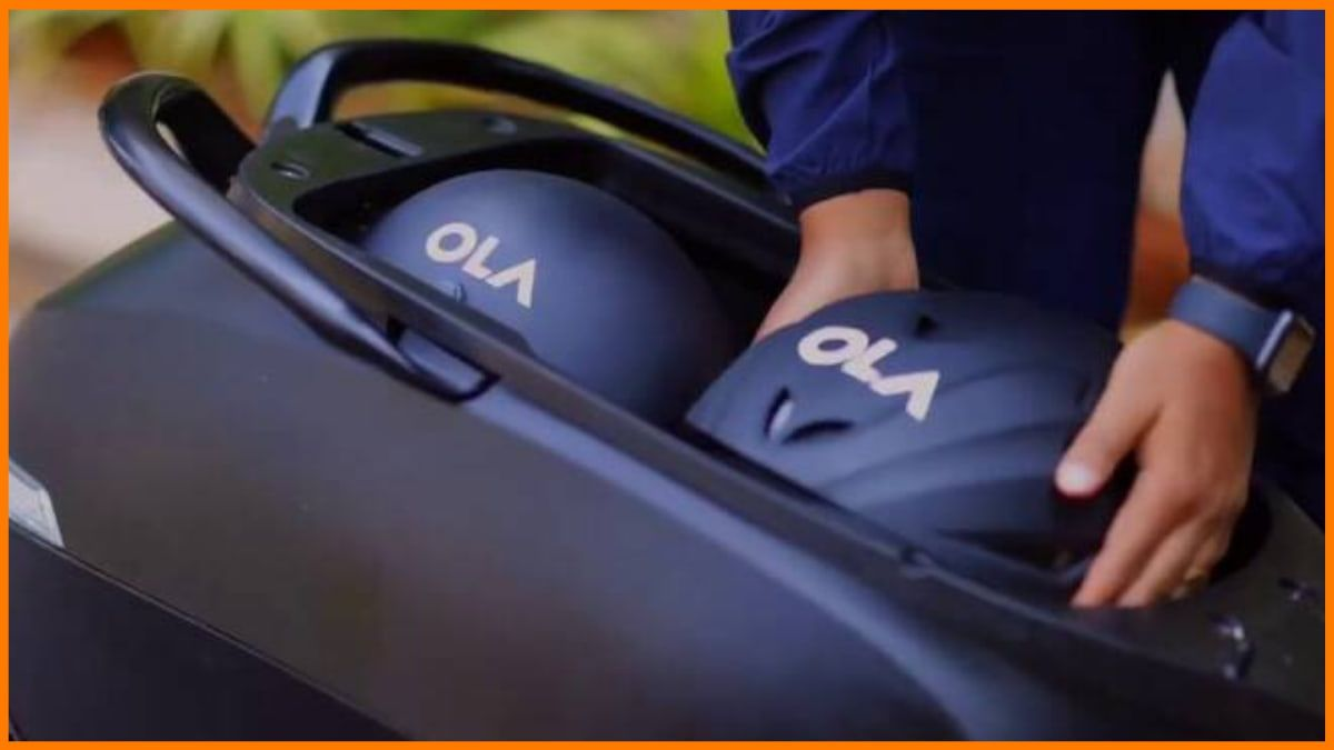 Ola Electric Scooter boot space