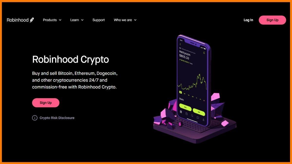 Robinhood Website