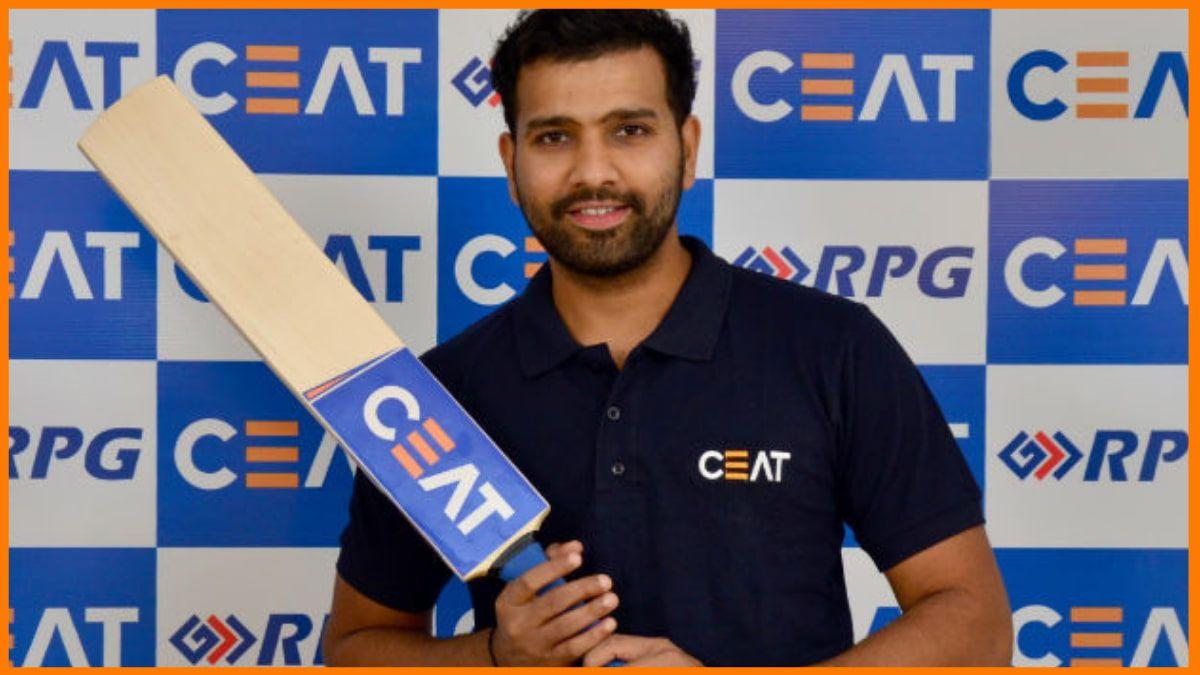 Rohit Sharma endorsed brand - CEAT
