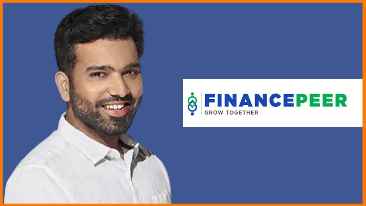 Rohit Sharma endorsed brand - Financepeer
