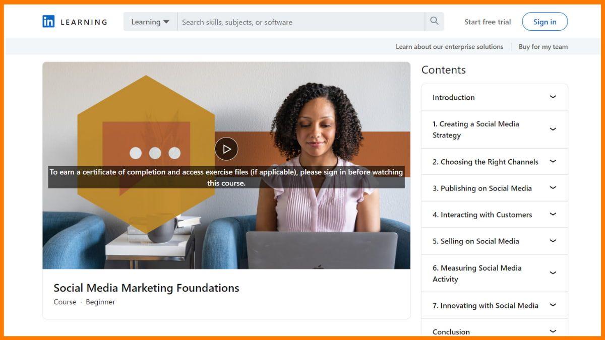 Social Media Marketing Foundation