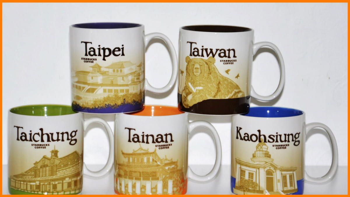 Starbucks City Mugs Collection