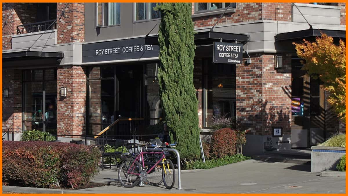 Starbucks Roy street Coffee & Tea