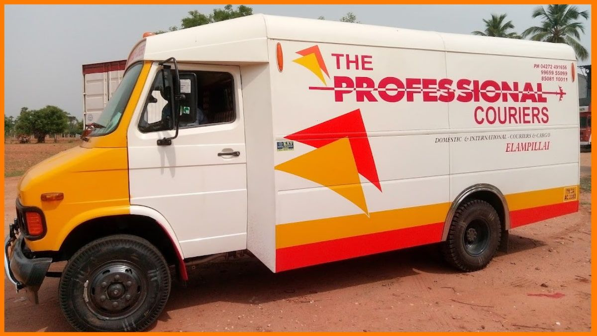 The Professional couriers   best courier service in india