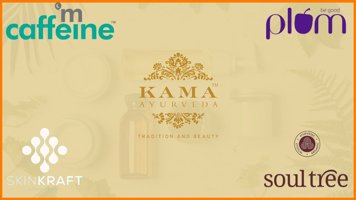 Top 6 Best Organic Beauty Startups in India that are leading the organic Beauty Industry in India