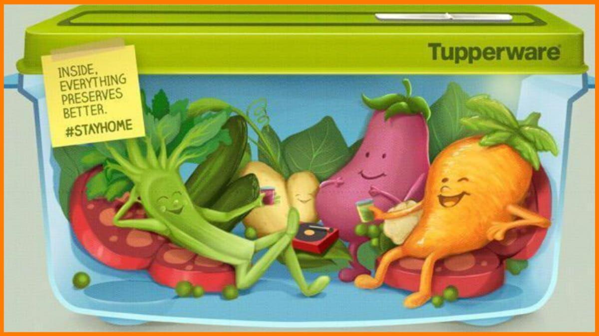 Tupperware Print Advertisement
