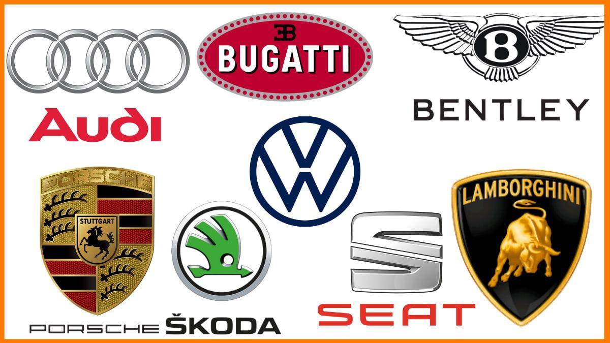 Volkswagen subsidiaries   Audi   Lamborghini  Skoda   Bentley   Porsche