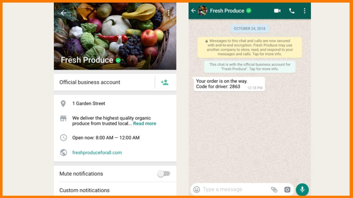 whatsapp business verification