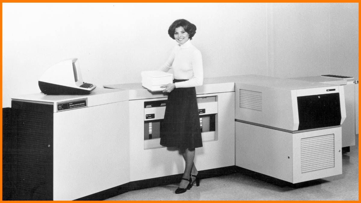 Xerox's First Laser Printer
