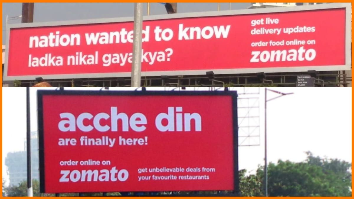 Zomato Billboards