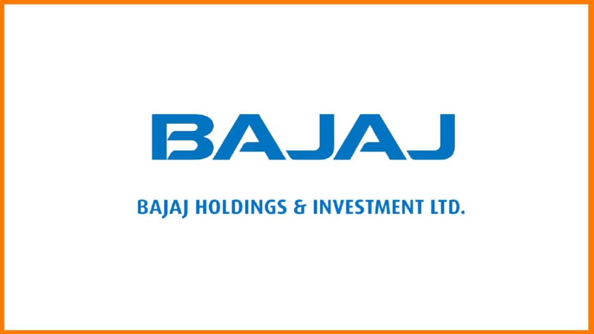 Bajaj Holdings & Investment Ltd.