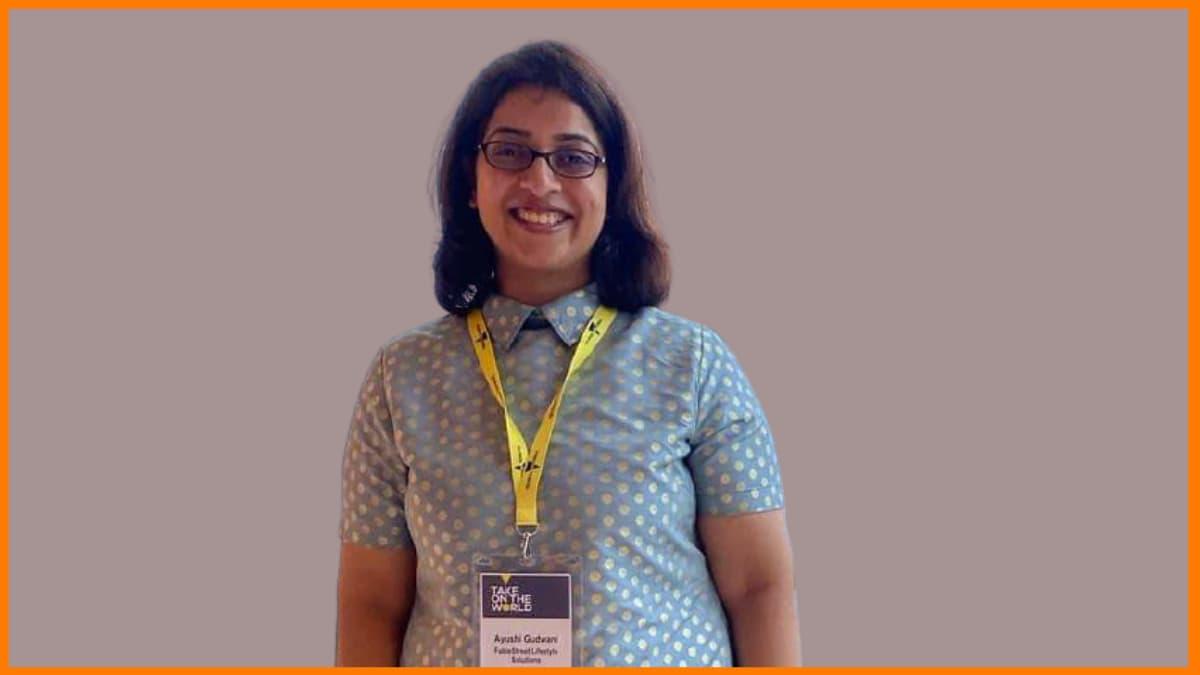 Ayushi Gudwani Participating In An Event