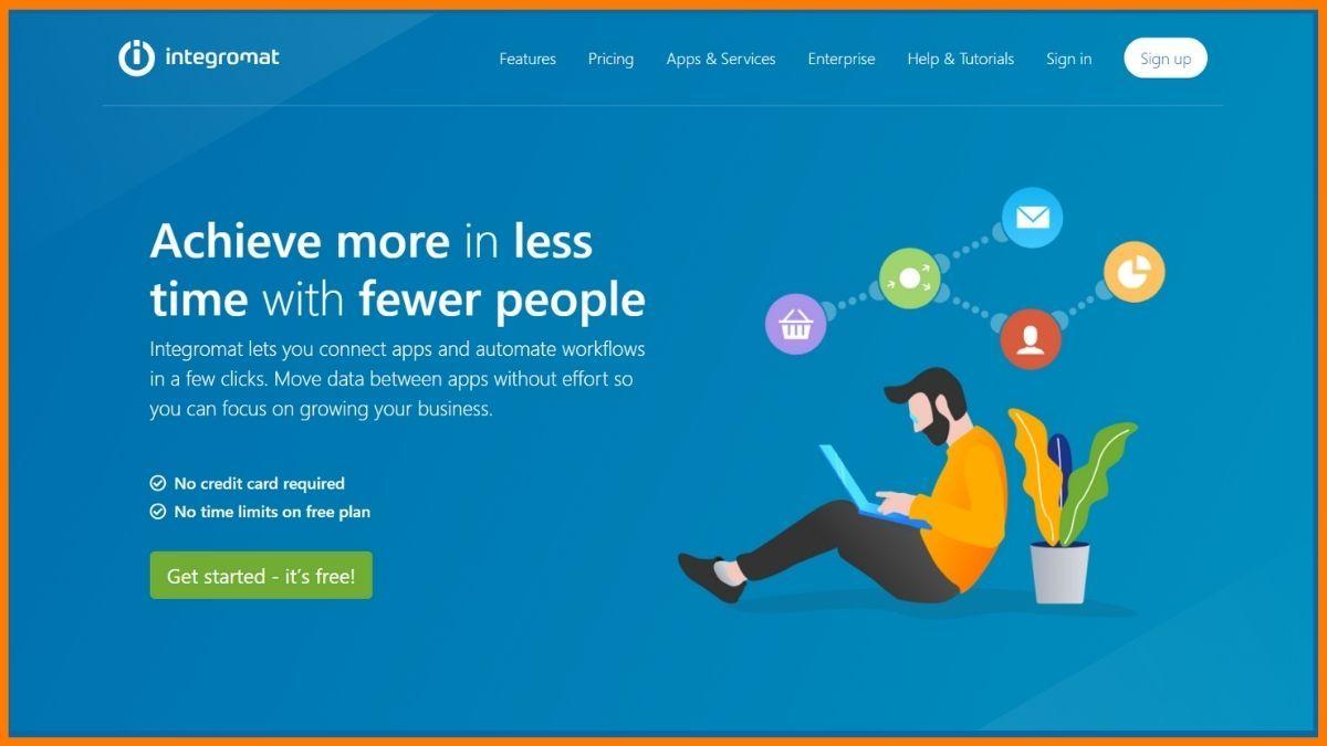 Integromat Website