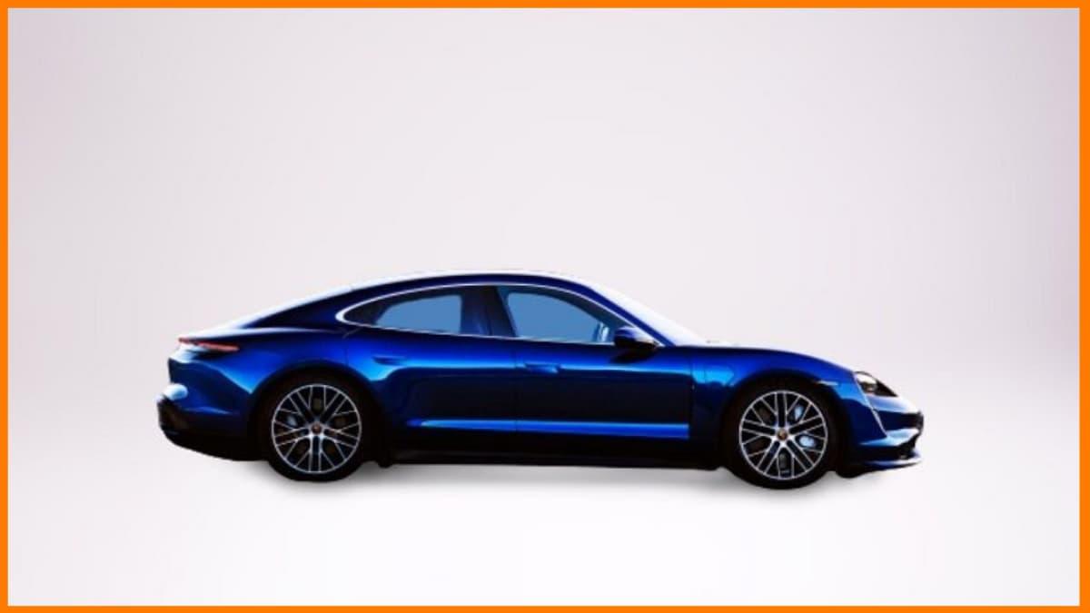 Porsche Taycan is an all-electric car