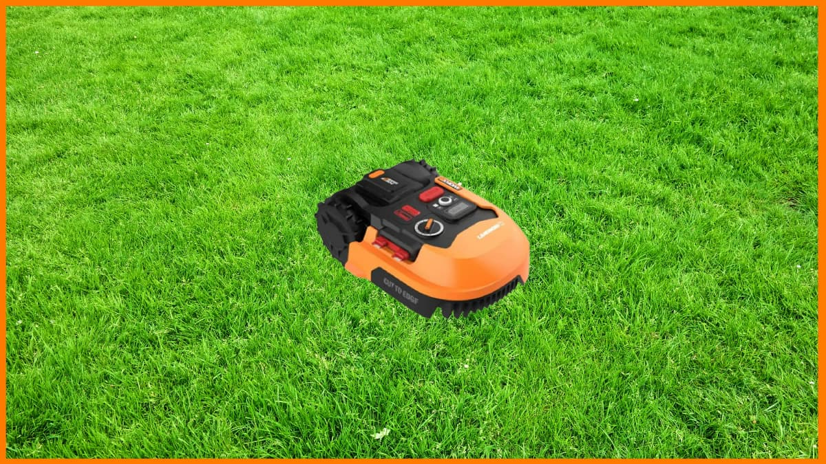 A robotic Lawn Mower will automatically cut the grass without human intervention.