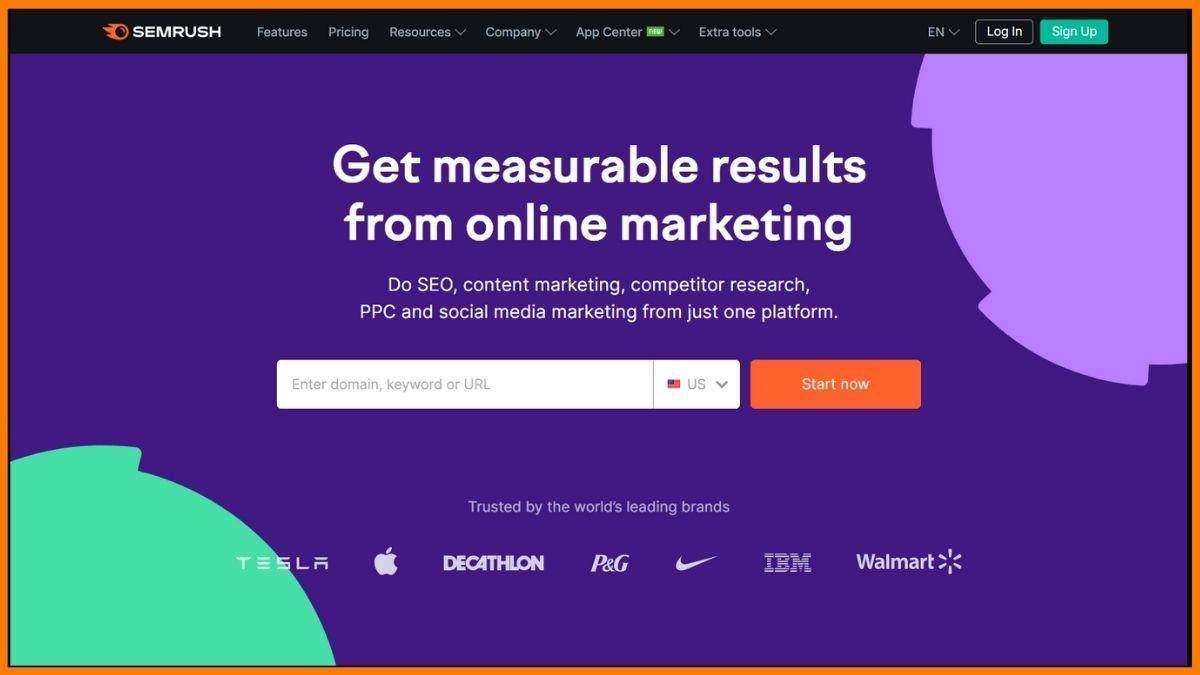 Semrush - SEO Competitor Analysis Tools