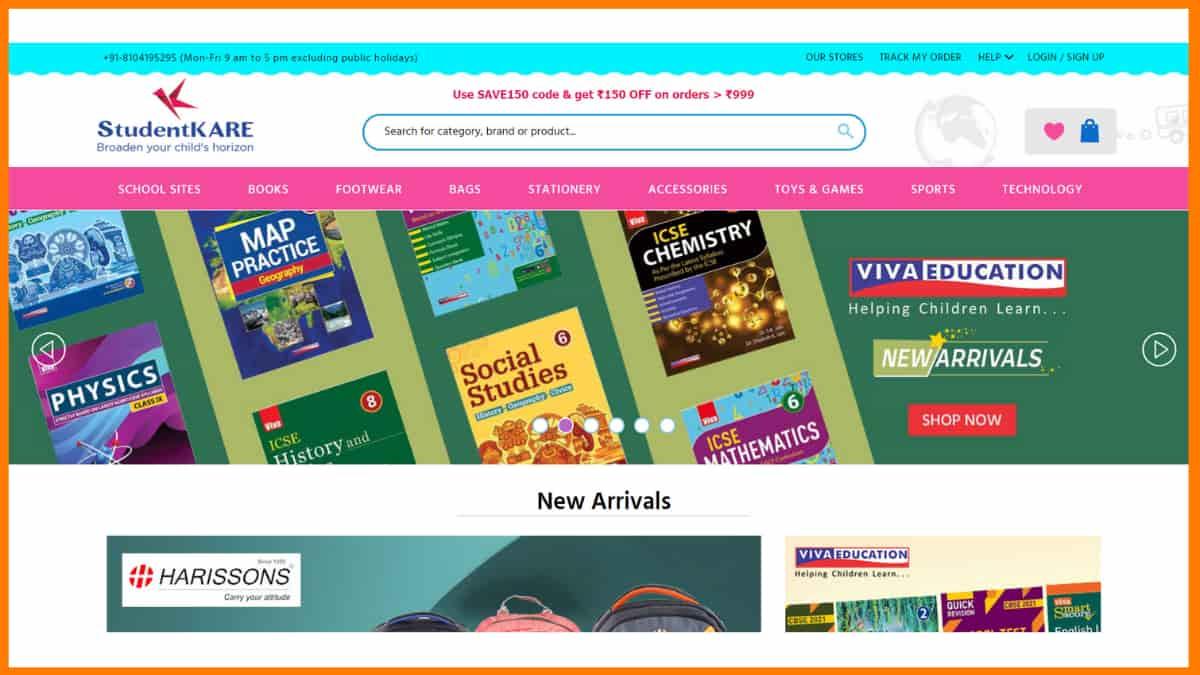 StudentKare - One-stop-destination for School Supplies
