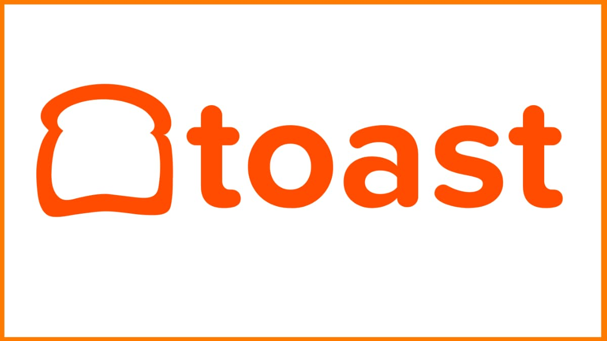 Toast, Inc. Logo | Top Fintech Startup in the USA