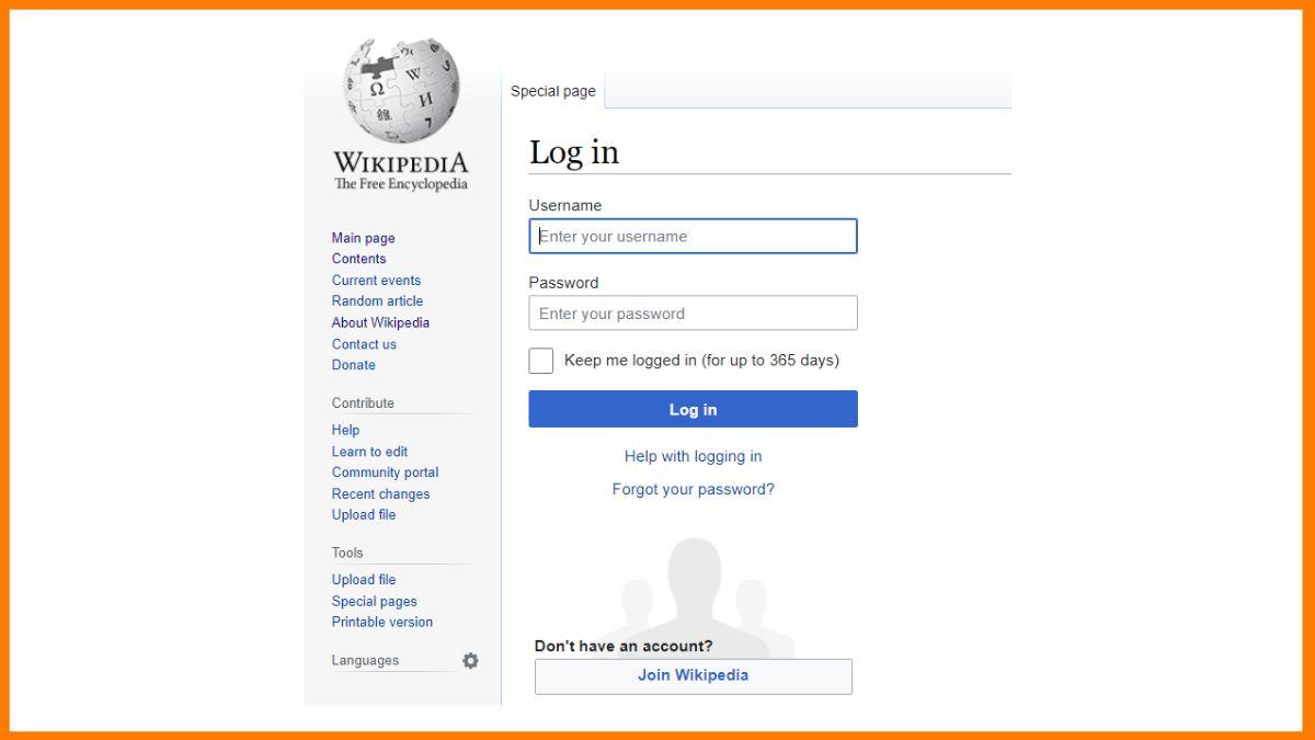 Joining Wikipedia