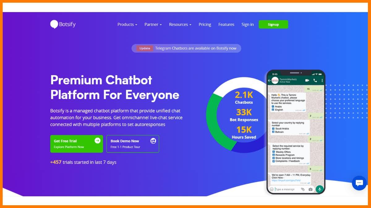 Botsify - Chatbot Saas Tools