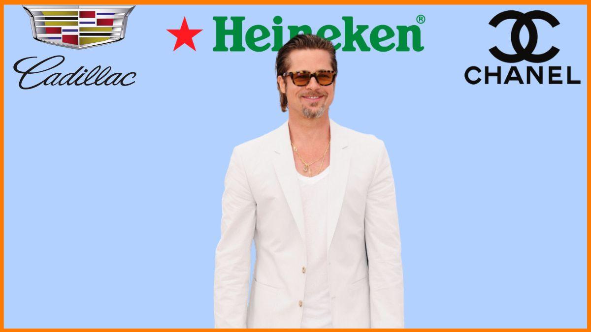 List of Brands Endorsed by Brad Pitt