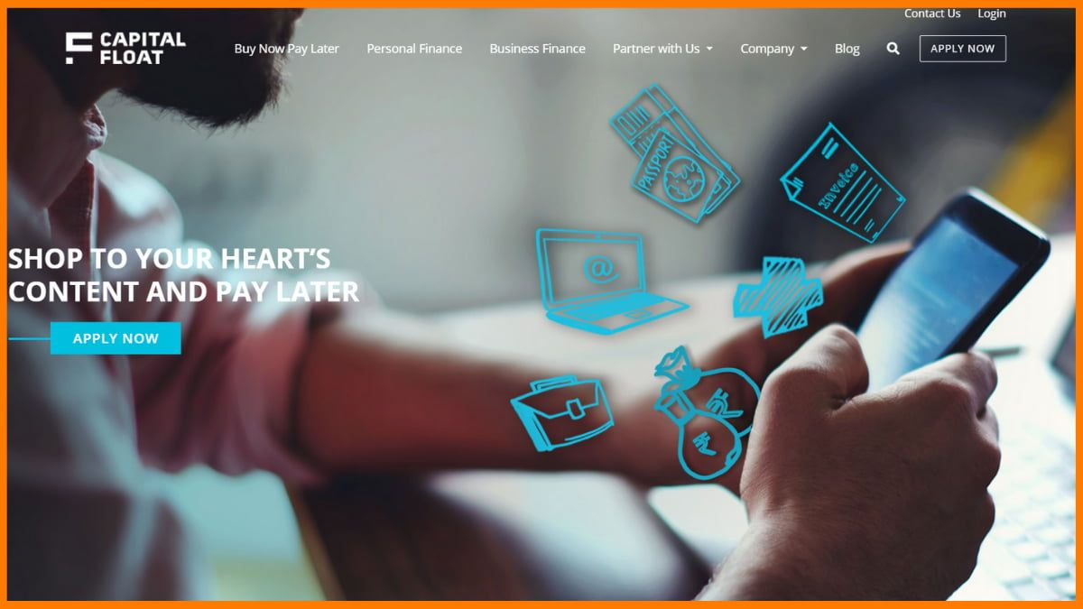 Capital Float Website