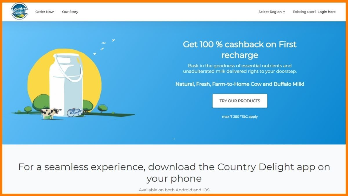 Country Delight Website