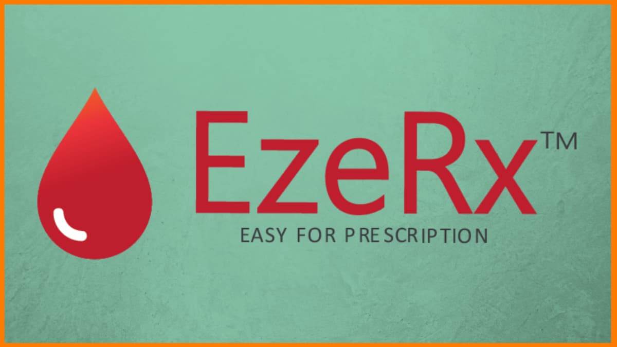 EzeRx Logo   Startups in Bhubaneswar