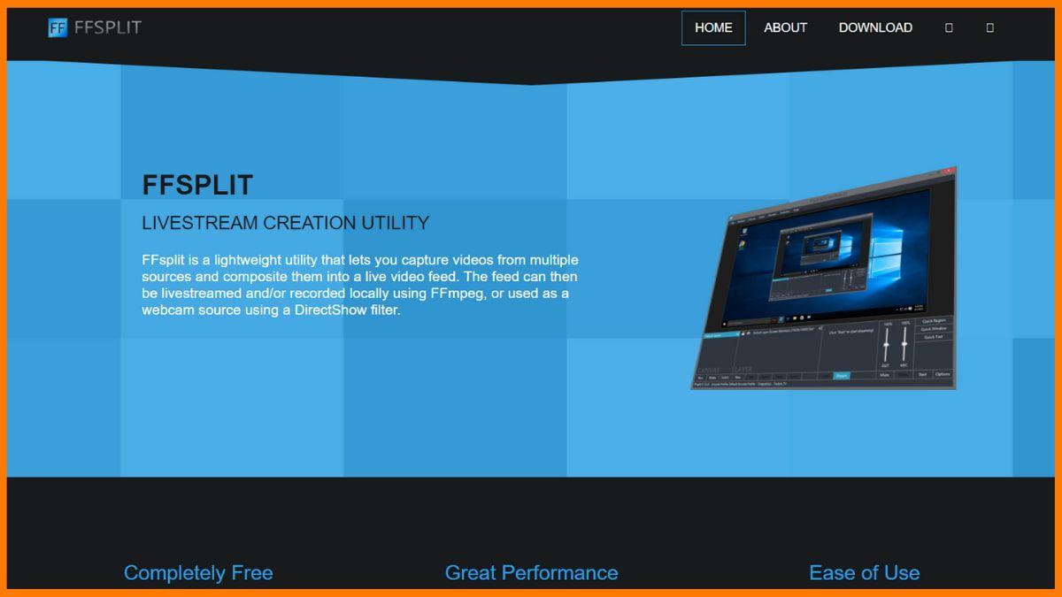 FFSplit Website