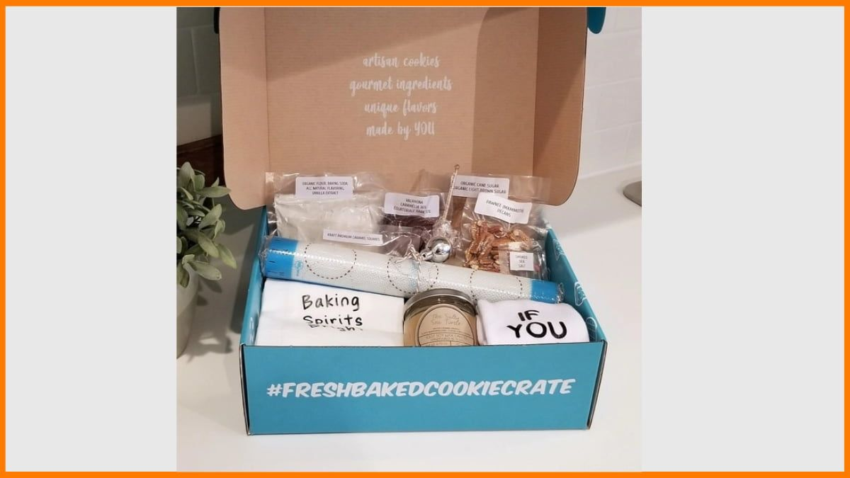 Fresh Baked Cookie Crate