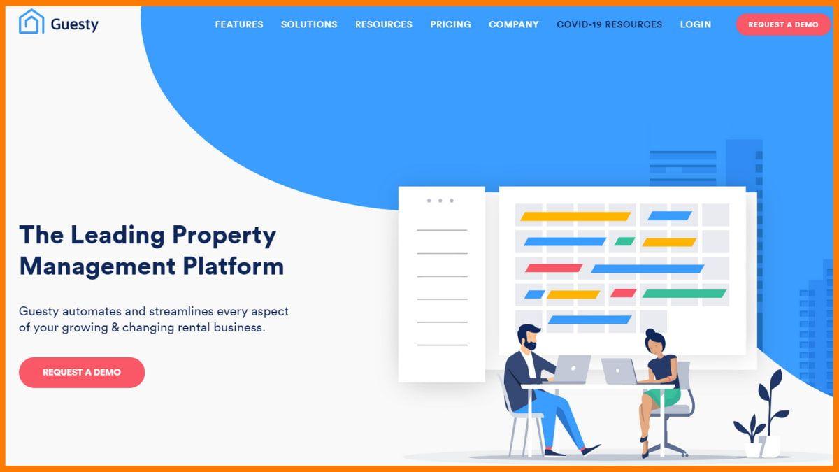 Guesty Website