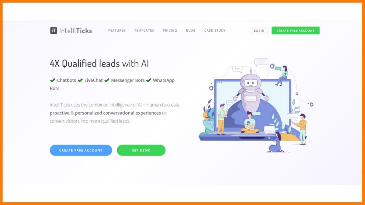 IntelliTicks - Chatbot Saas Tools