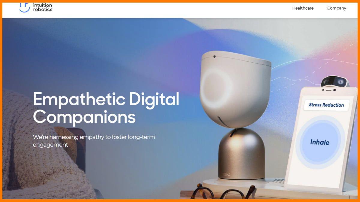 Intuition Robotics Website