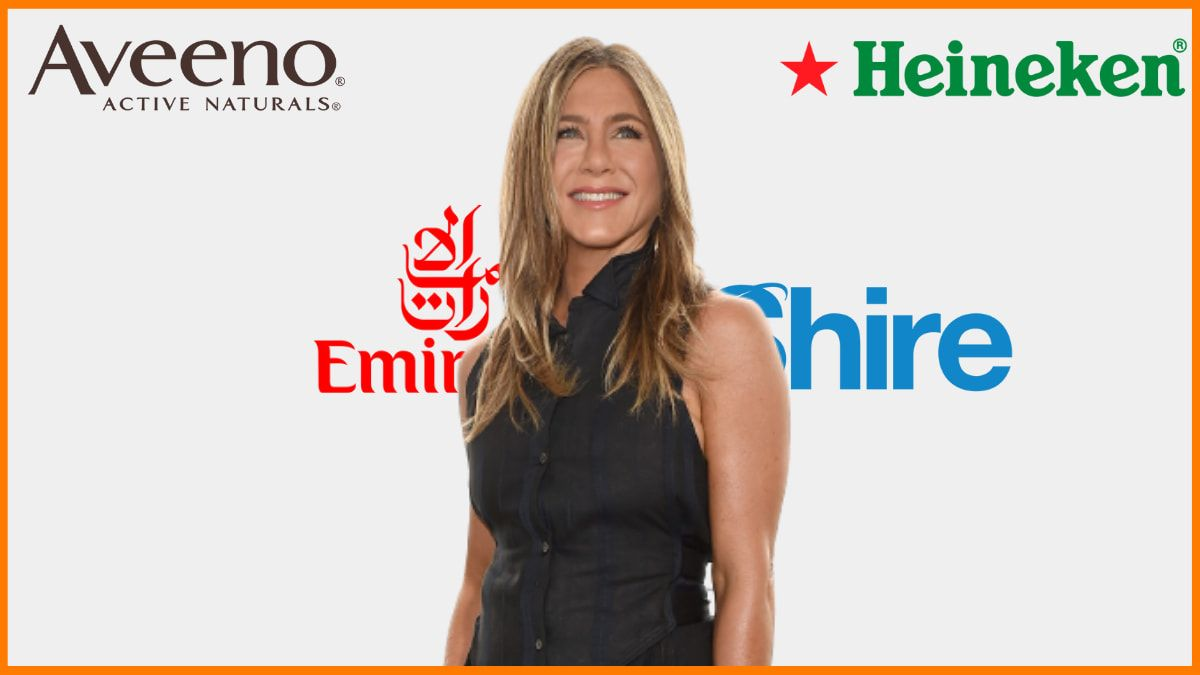 List of Brands Endorsed by Jennifer Aniston