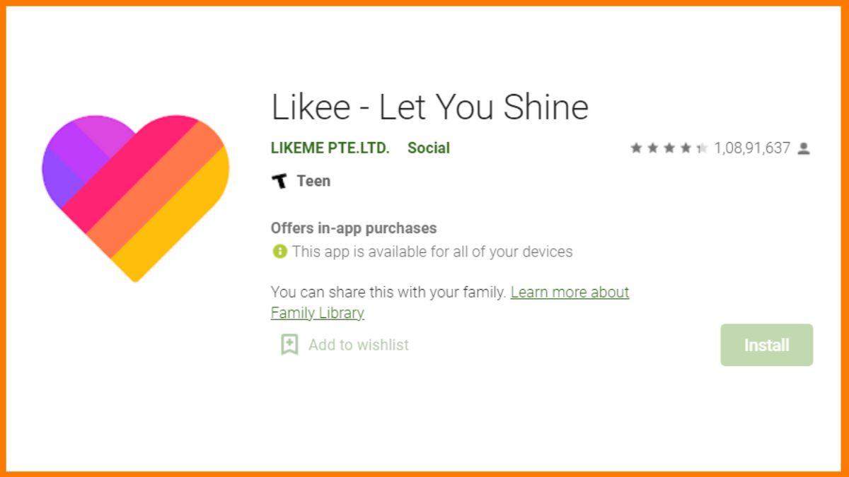 Likee App Downloads