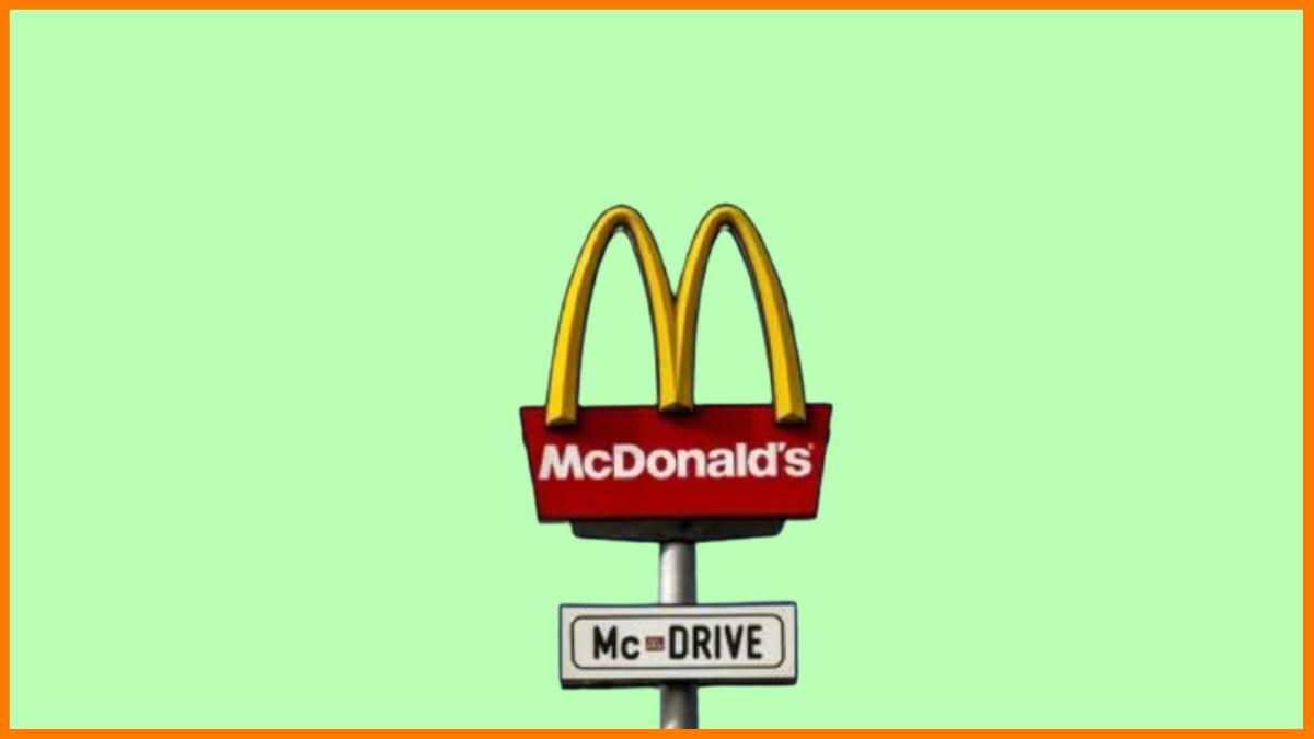 McDonalds's Drive Thru