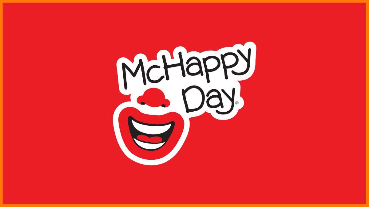 Mcdonald's Mc Happy Day