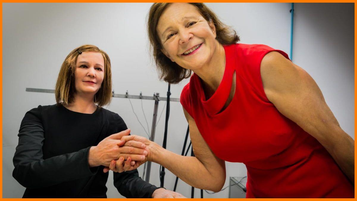 Nadine - The Robot with professor Nadia Magnenat Thalmann