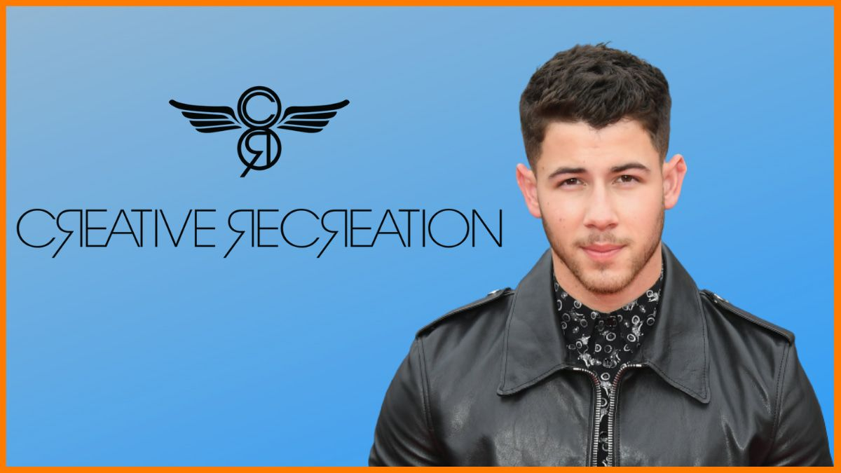 Nick Jonas endorsed brand- Creative Recreation
