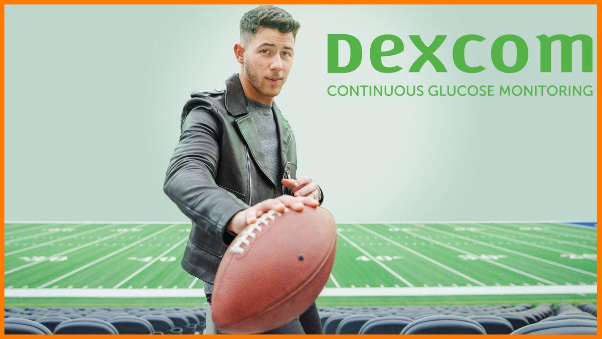 Nick Jonas endorsed brand- Dexcom