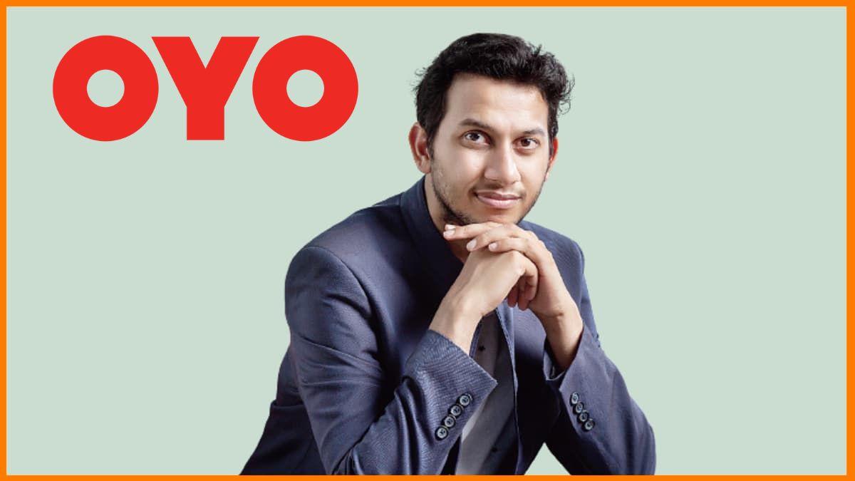 Ritesh Agarwal, Founder & CEO of OYO Rooms