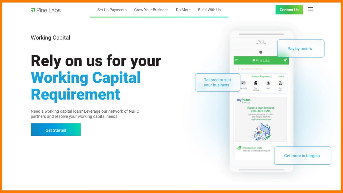 Pine Labs Website