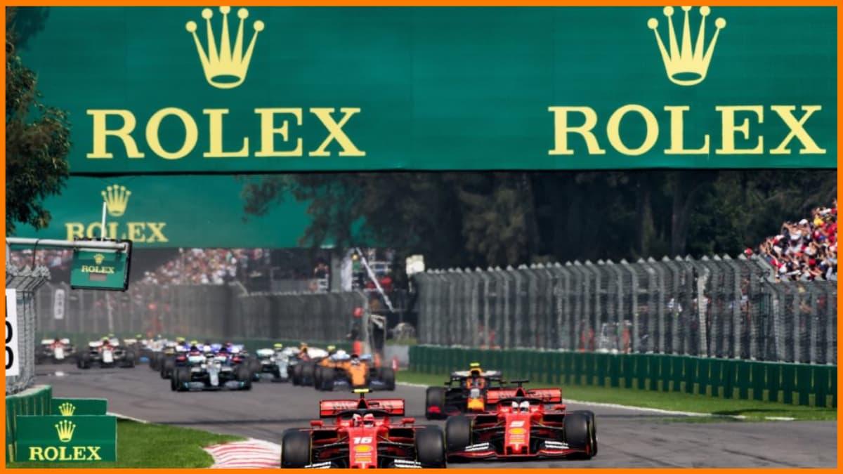 Rolex Sponsorship in F1