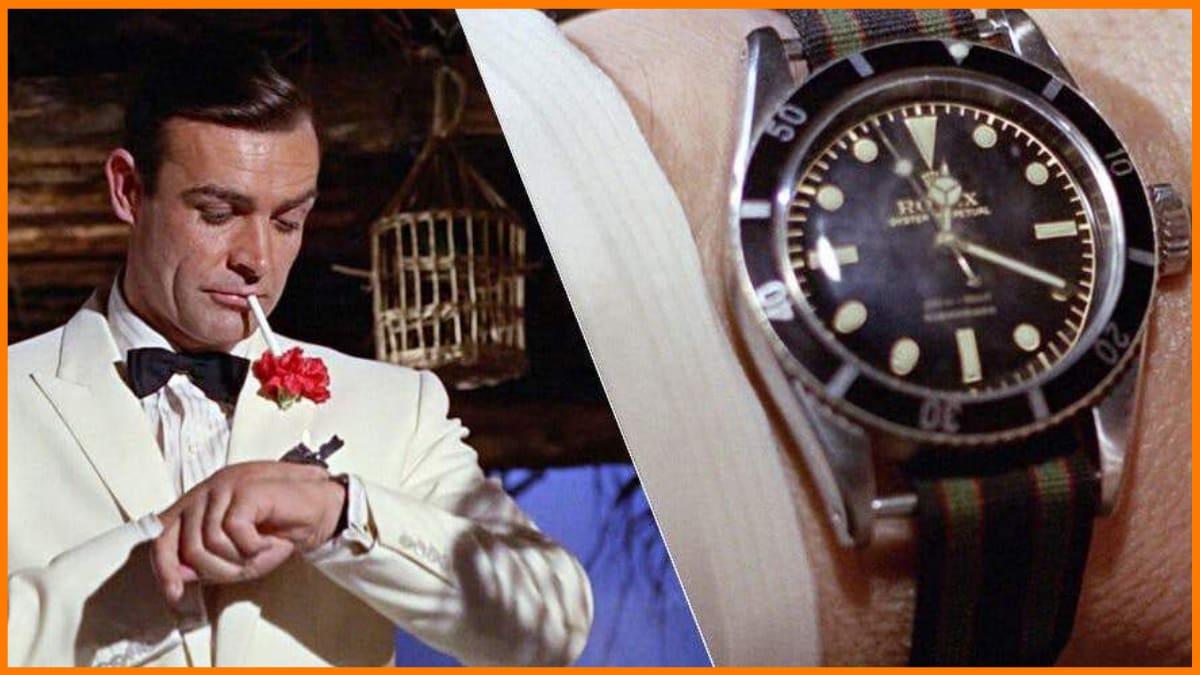 Rolex Promotion in James Bond movie